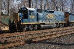 CSX 2380 on local C770